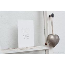"""Karte """"L♥ve"""""""