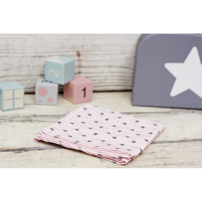 """""""Noschi"""" rosa mit kleinen Sternen"""