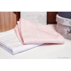 """Noschi"" Swaddle Tuch im 2er Set peach leaves"