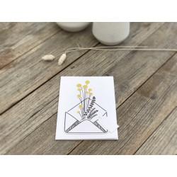 "Wiesenblumenkarte ""Trommelstöckchen"""