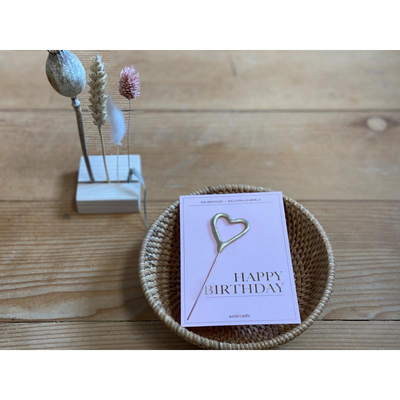 """Wunderkerze """"Happy Birthday"""""""