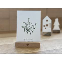 "Postkarte ""Mistletoe"""