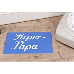 "Karte ""Super Papa"""