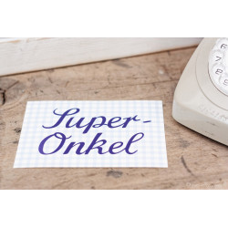 "Karte ""Super Onkel"""