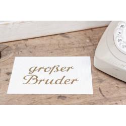 """Karte """"Grosser Bruder"""""""