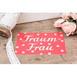 "Karte ""Traumfrau"""